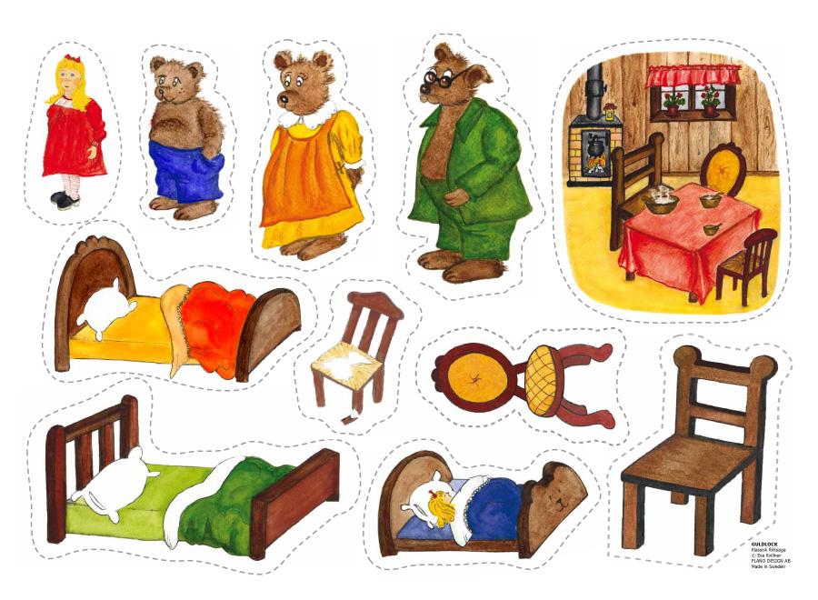 ... Three Bears Flannel Board Printables Goldilocks and the three bears